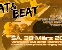 Eat & Beat Party @ Club Dampf – Dübendorf (ZH) ★30.03.2019★